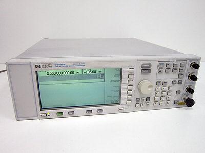 Hp Agilent E4425b 250 Khz- 3.0 Ghz Esg-ap Series Signal Generator