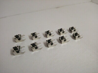 10x Pack Lot 6 X 6 X 5 Mm Push Touch Tactile Momentary Micro Button Switch Dip