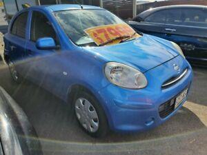 2010 Nissan Micra K13 ST-L Blue 5 Speed Manual Hatchback Morphett Vale Morphett Vale Area Preview