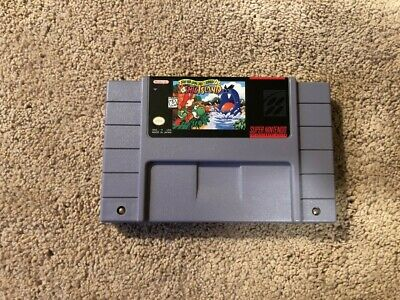 Yoshi's Island Super Nintendo SNES Authentic Game