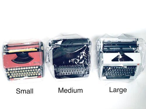 Portable Typewriter Dust Cover Corona, Remington, Royal, Underwood, Hermes, etc.