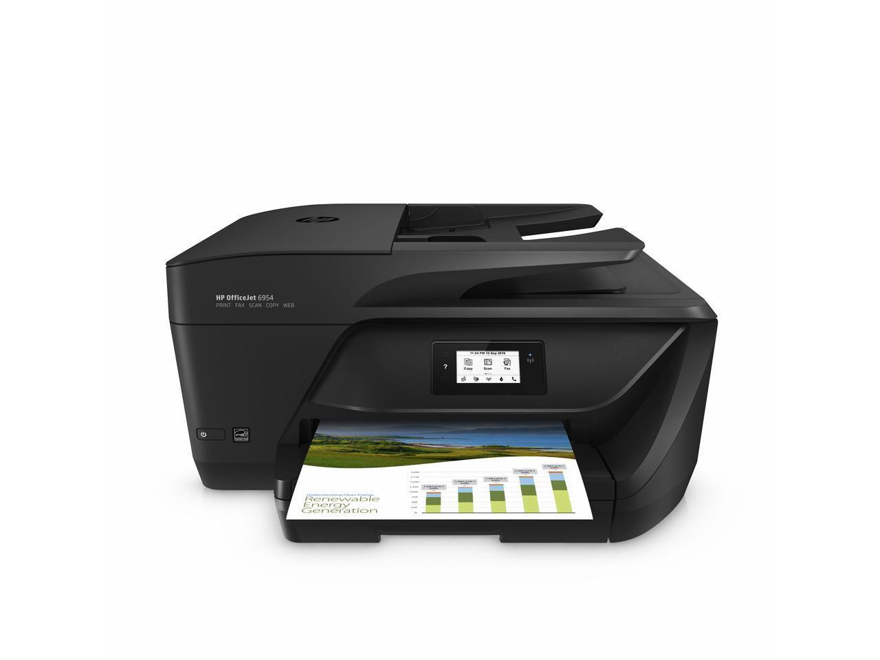 HP OfficeJet 6962/6954 All-in-One Inkjet Printer w/ Print, Scan, Fax, Copy
