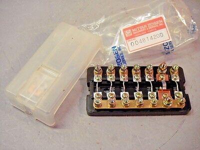 Mitsui Zosen 4814200 Fuse Box Panel Yushin Seiki