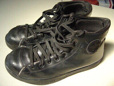 Men's Converse Chuck Taylor All Star steel toed work shoes 11 used black Mens Converse Work Shoes