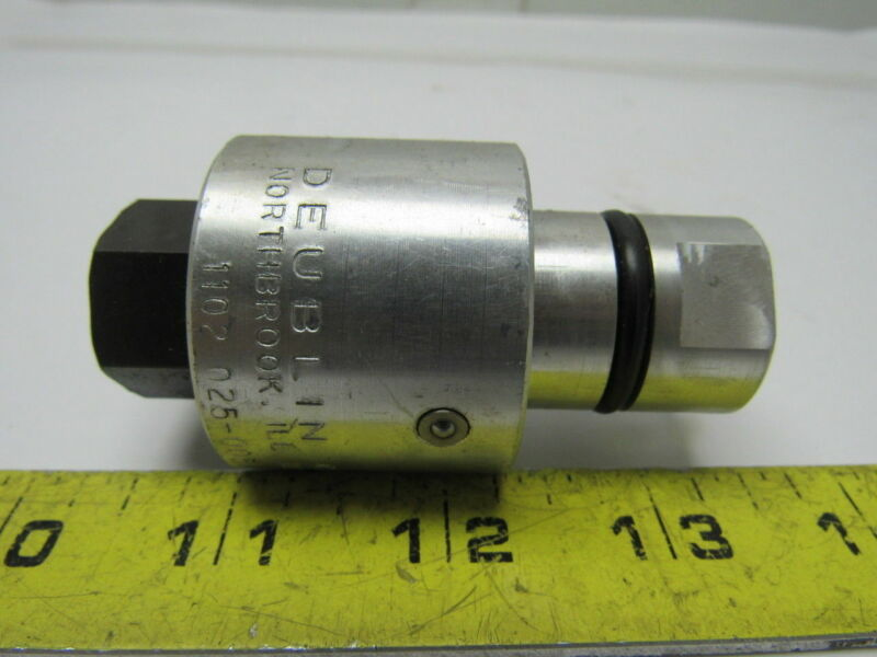 "Deublin 1102-025-005 Air/Oil/Hydraulic Rotary Rotor Union 1/4"" NPT RH 150PSI"