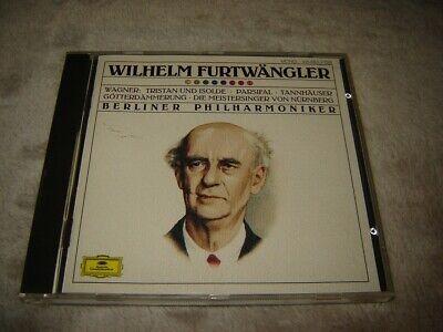Deutsche Grammophon 415 663-2 CD NM Furtwangler - Wagner Overtures full silver