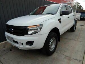 2012 Ford Ranger PX XL Hi-Rider White 6 Speed Sports Automatic Utility Blair Athol Port Adelaide Area Preview
