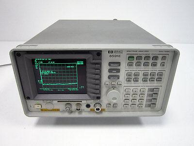 Hp Agilent Keysight 8591e 1.8 Ghz Portable Spectrum Analyzer 004 130 021