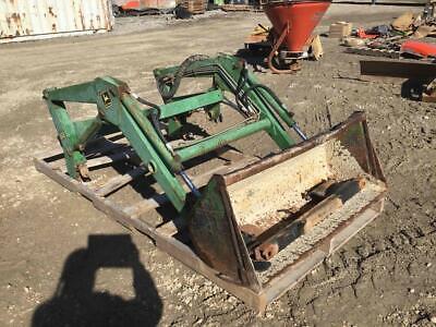 John Deere 52 Loader W 48 Bucket Fits 855 Compact Tractors Stock 204877