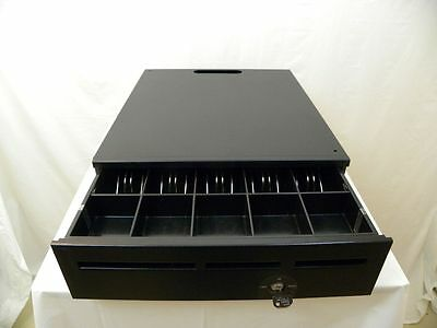 Mmf Cash Drawer 20 By 17 Black Custom Built With Rear Storage Reduced Price