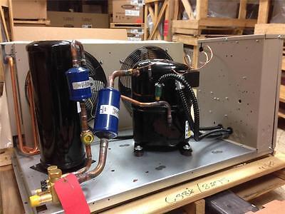 Bohn Overstock 3hp Low Temp 404a Freezer Condensing Unit 460v 3 Phase Bhn031l6d