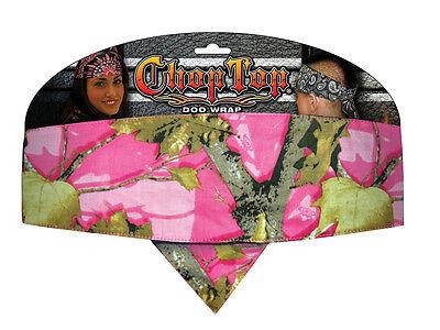 Pink Camo Bandana (Pink Camo Camouflage Chop Top Biker Bandanna Headwrap Sweatband Cotton Headband)