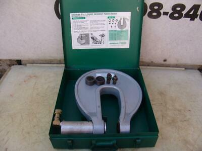 Greenlee No.1731 Hydraulic C-frame Knockout Punch Driver W Box