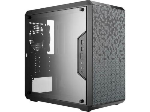 MasterBox Q300L mATX Case w/ Magnetic Design Dust Filter Transparent Acrylic