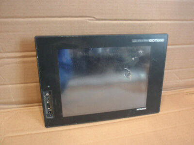 Gt1675m-stbd Mitsubishi Plc Hmi Operator Interface Touchscreen Damaged Screen