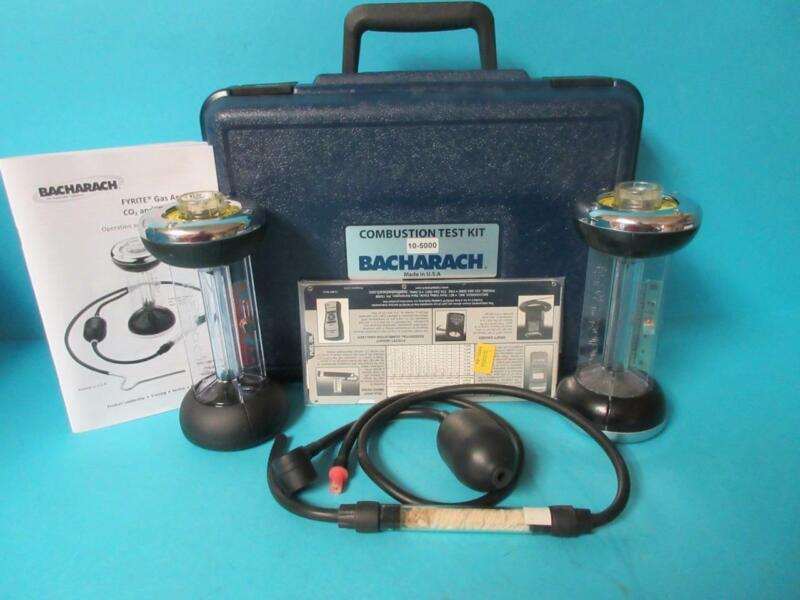 BACHARACH 0-20% CO2 Gas Analyzer Fyrite Classic Combustion Test Kit 10-5000