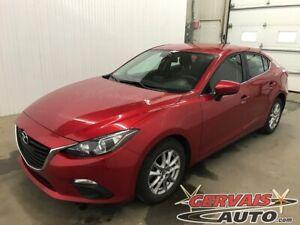 2016 Mazda Mazda3 GS Mags NAV Caméra de recul Sièges Chauffant A