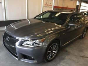 2013 Lexus LS 460 F-SPORT, AWD, GPS, CAMERA Price with financing