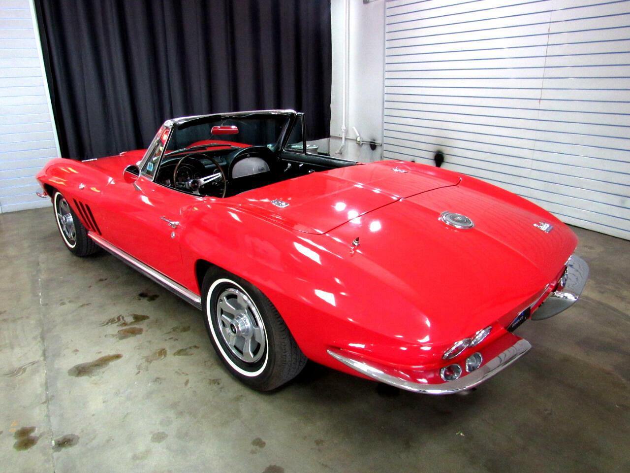 1966 Red Chevrolet Corvette Convertible    C2 Corvette Photo 4
