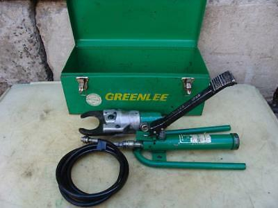 Greenlee 750 Hydraulic Cable Wire Cutter With 1732 Foot Pump Works Great
