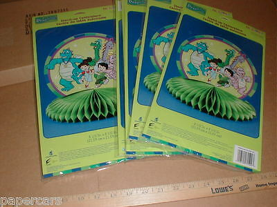 6 Dragon Tales Stand-Up Centerpiece Sesame Street cartoon New lot party Supplies