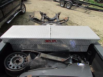 Delta Aluminum Mid-Lid Pick Up Truck Tool Box Full Size Crossover Dual Lid