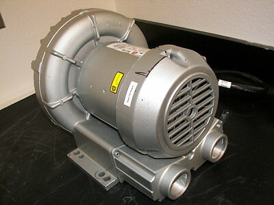 Gast Series 3 Regenair Regenerative Blower Model R3305a-1 Tested Good 3ph 208