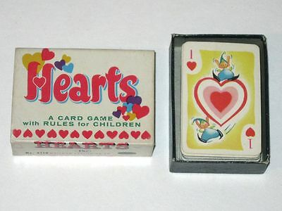 Vintage 1951 Whitman HEARTS Card Game! Complete Deck in Original Box!