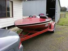 Stephens Custom Ski Race Boat Ballarat East Ballarat City Preview