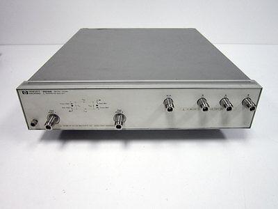 Hp Agilent 85046b S-parameter Test Set 300khz- 2 Ghz 75ohm