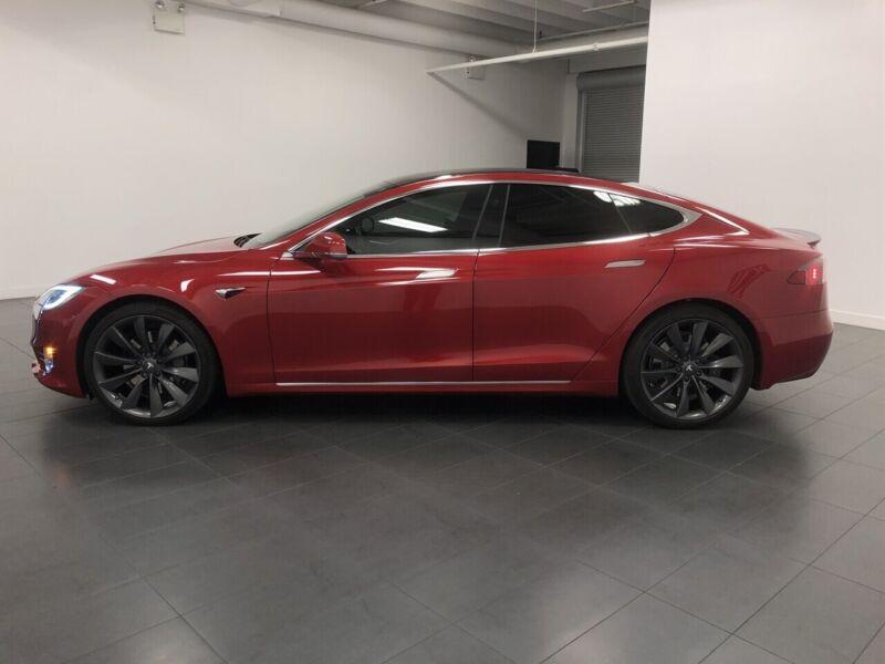 Image 7 Coche Americano usado Tesla Model S 2017