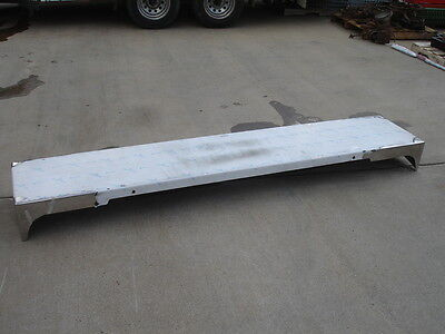 Valley Chrome Plating Freightliner Stainless Steel Bumper 565 (Valley Chrome Bumper)