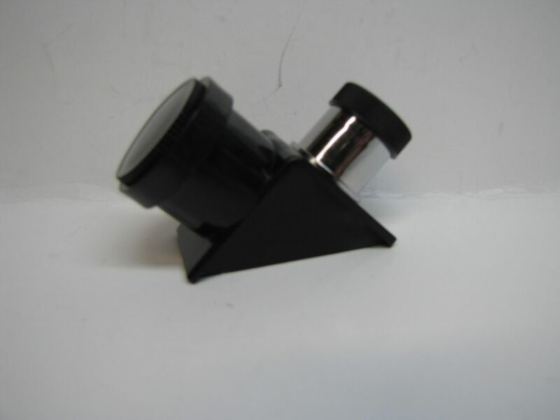 """Hybrid Telescope Diagonal 90 Degree Go from .965"""" to 1.25"""" eyepiece with sleeve"""