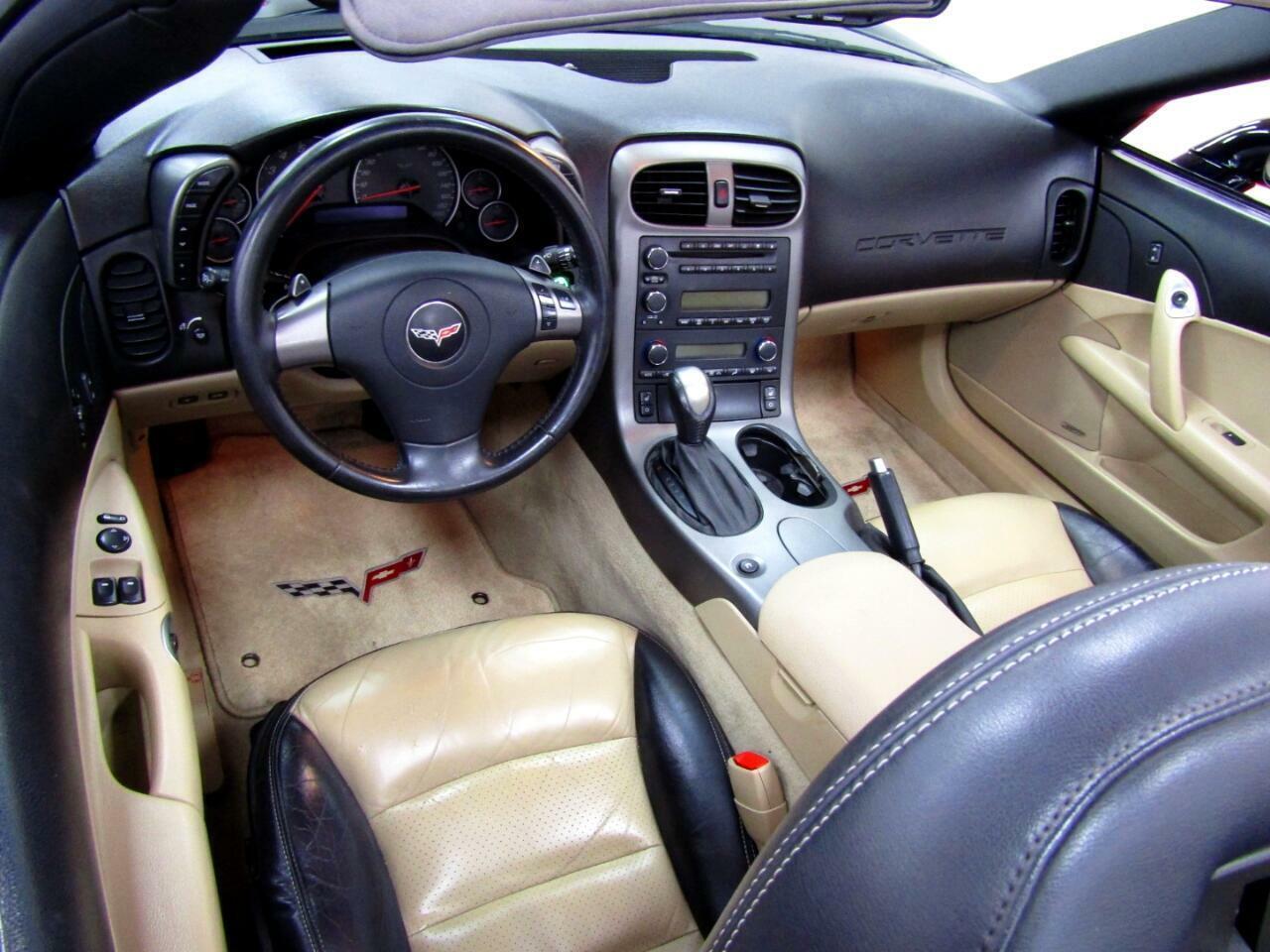 2007 Black Chevrolet Corvette Convertible    C6 Corvette Photo 6