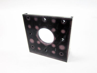 Opto Sigma 123-8180 Right Angle Bracket With Aperture 1-4 20 Screw Holes
