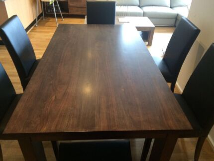 Focus on high quality Oak Dining table $890