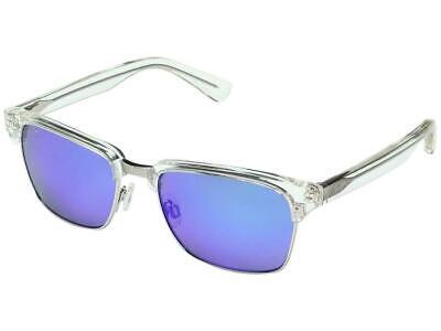 Maui Jim Kawika Polarized Sunglasses 257-05CR Crystal Clear/Blue Retro / Display