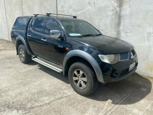 2009 Mitsubishi Triton ML MY09 VR Plus (4x4) Black 4 Speed Automatic Double Cab Utility Hoppers Crossing Wyndham Area Preview