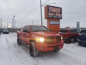 2007 Dodge Ram 1500 ST*CUSTOM WHEELS**ONLY 92 KMS**4X4**5.7L HEM
