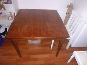 Pure wooden extendable table Narraweena Manly Area Preview