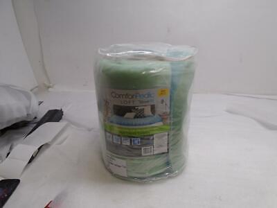 """NEW ComforPedic 4"""" Reversible Gel-Memory Foam TWIN Mattress"""