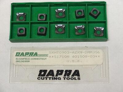 10 New Dapra Sxht 0903-azxn Dmm356 Carbide Inserts Sdht 0903 Azxn Dmk156