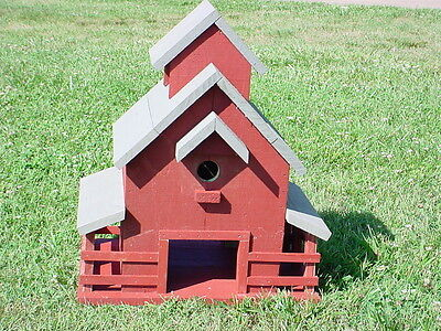 Midwestern Barn Birdhouse PLANS & INSTRUCTIONS US-Southeast 2016
