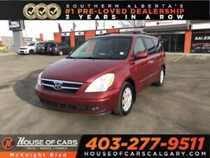 2008 Hyundai Entourage GLS / Leather / Heated seats / DVD