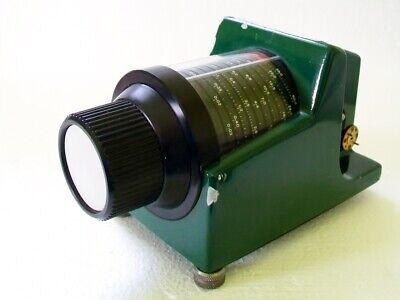 Flann Microwave Fmi Wr12 60-90 Ghz Waveguide 60 Db Rotary Vane Attenuator 2611