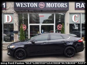 2014 Ford Fusion SEL* LIMITED* SUNROOF* LEATHER* NAVI