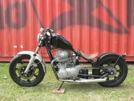 Yamaha XS650 Hardtail Bobber Chopper Cafe Racer Custom Harley Manly Brisbane South East Preview