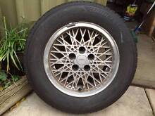 """Ford 15 inch """"Snowflake"""" mag wheel Seaton Charles Sturt Area Preview"""