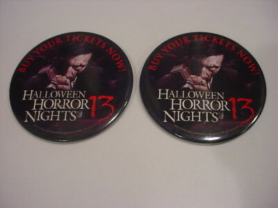 Halloween Horror Nights 13 (2 nice HHN Halloween Horror Nights #13  EMPLOYEE PROMO)