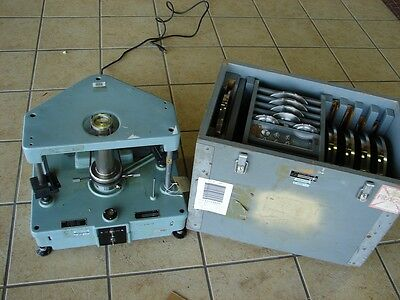 Ruska 5100-704-005100-705-0 Dead Weight Tester W Base And Leveling Xlnt